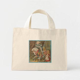 Alice and the White Knight Mini Tote Bag