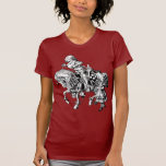 Alice and the White Knight T-shirts