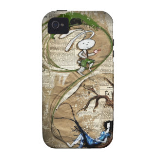 Alice and the White Rabbit iPhone 4 Case