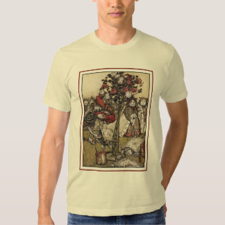 Alice and Wonderland - Arthur Rackham T-shirt