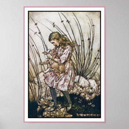 Alice and Wonderland - Pig & Pepper by Rackham Print