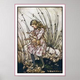 Alice and Wonderland - Pig Pepper by Rackham Print