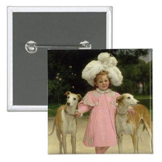 Alice Antoinette de la Mar, aged five Buttons