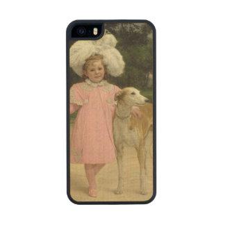 Alice Antoinette de la Mar, aged five Carved® Maple iPhone 5 Slim Case