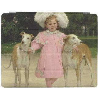Alice Antoinette de la Mar, aged five iPad Cover