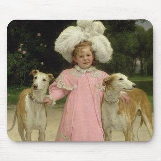 Alice Antoinette de la Mar, aged five Mouse Mat