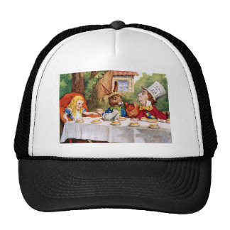 Alice at the Mad Hatter s Tea Party in Wonderland Hat