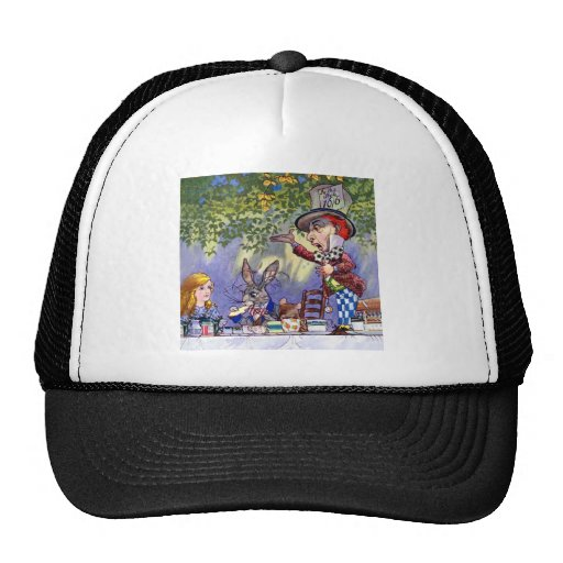 Alice at The Mad Hatter's Tea Party Trucker Hat