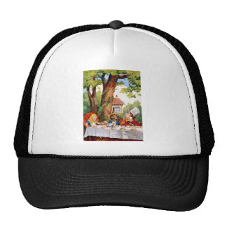 Alice at the Mad Hatter's Tea Party in Wonderland Cap