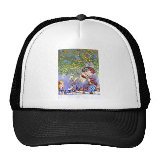Alice at the Mad Hatter's Tea Paty. Hat