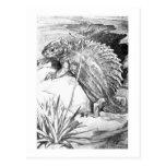 Alice B. Woodward: Edaphosaurus art postcard