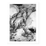 Alice B. Woodward: Moeritherium art postcard