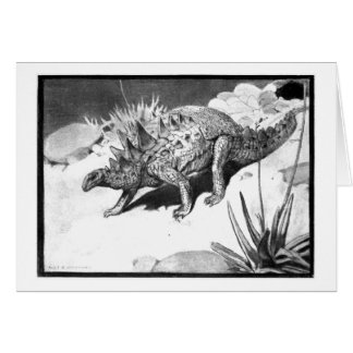 Alice B Woodward Polacanthus art card