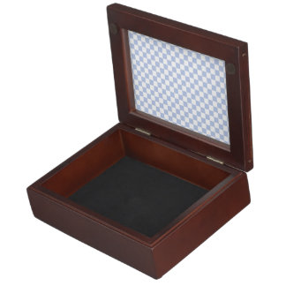 Alice Blue Checkerboard in English Country Garden Memory Boxes