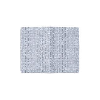 Alice Blue Maze in an English Country Garden Pocket Moleskine Notebook