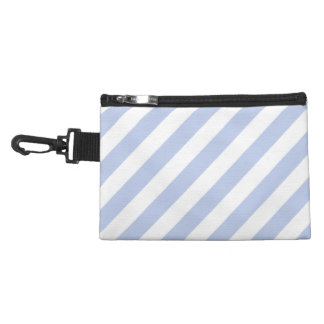 Alice Blue Tent Stripe in English Country Garden Accessory Bags
