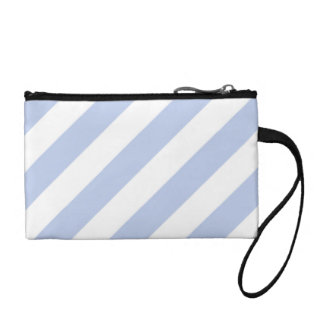 Alice Blue Tent Stripe in English Country Garden Coin Wallet