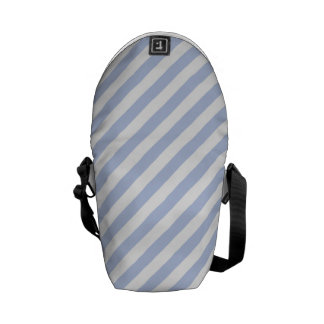 Alice Blue Tent Stripe in English Country Garden Commuter Bags