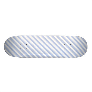 Alice Blue Tent Stripe in English Country Garden Skate Deck