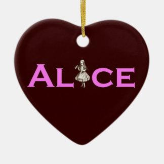 Alice Christmas Ornament