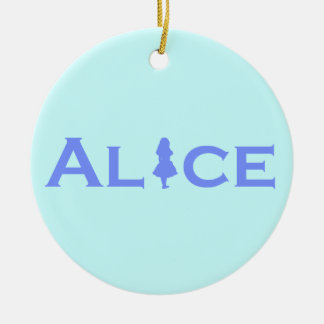 Alice Christmas Ornament