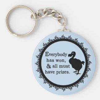 Alice Dodo Everybody Has Won Basic Round Button Key Ring