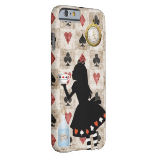 Alice Drinking Tea Barely There iPhone 6 Case