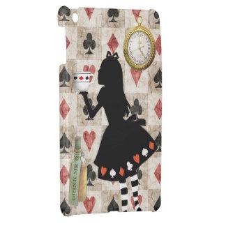 Alice Drinking Tea Wonderland iPad Mini Case