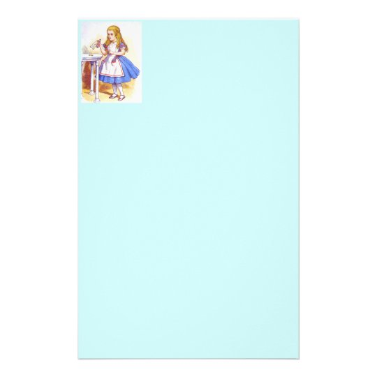 Alice Drinks Colour Stationery