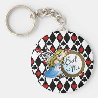 Alice Fairy-Eat Me Anime Keychain