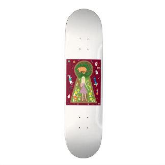 Alice (Fairy Tale Fashion Series #4) Custom Skateboard