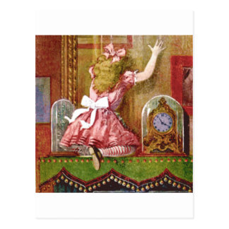 Alice Falls Through the Living Room Mirror Postcard