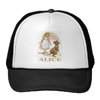 Alice follows the mouse trucker hats
