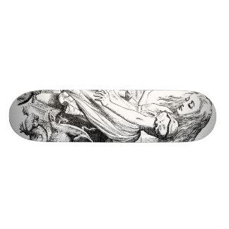 Alice Gives Evidence Skate Board
