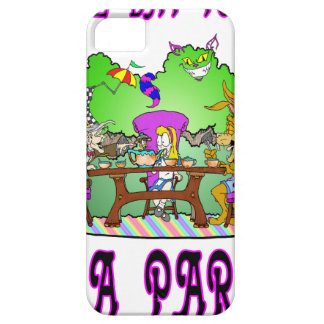 Alice has a Tea Party iPhone 5 Covers