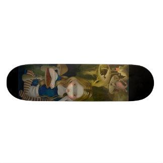 Alice in a Bosch Landscape wonderland Skateboard