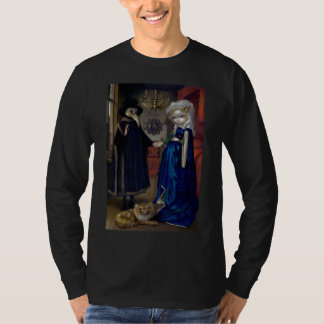 Alice in a Van Eyck Portrait SHIRT wonderland goth