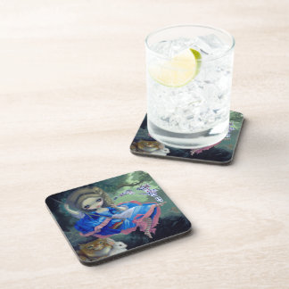 """Alice in Fragonard's Swing"" Coasters"