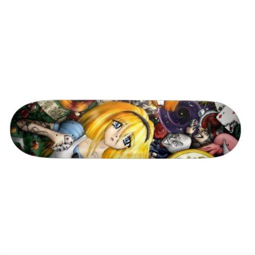Alice in Skateland 2 Custom Skateboard