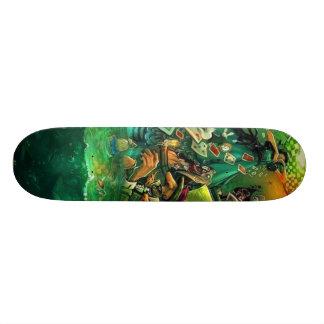 Alice in Skateland Custom Skateboard