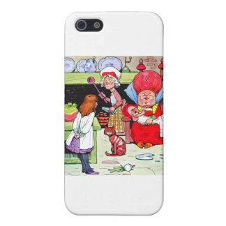 Alice in the Duchess Kitchen with the Pig Baby iPhone 5 Cases
