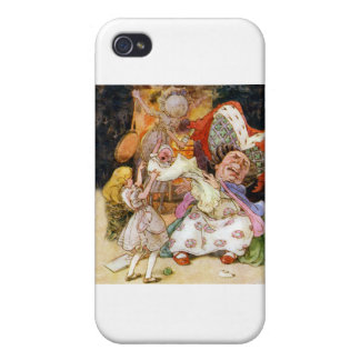 Alice in the Kitchen With the Duchess and Pig Baby iPhone 4 Case