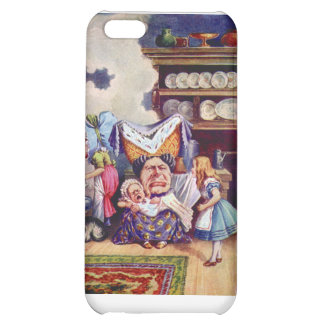 Alice in The Kitchen with the Duchess and Pig Baby iPhone 5C Covers