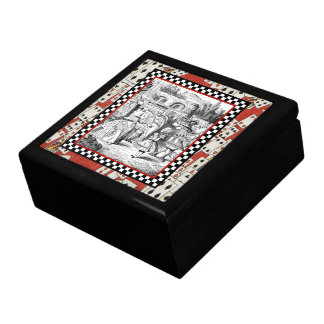 Alice in the Queen's Courtyard 1 Large Square Gift Box