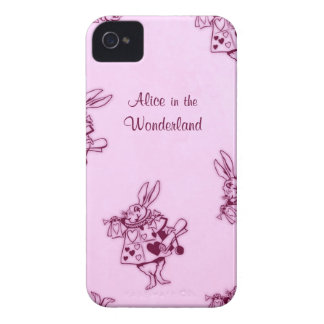 """""""Alice in the Wonderland"""" story book iphone case"""