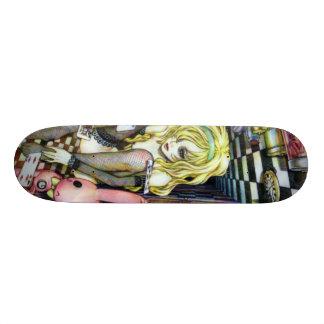 Alice in Wonderhell Skateboard Deck