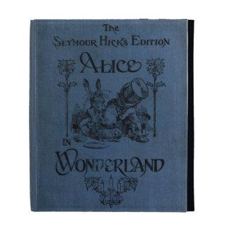 Alice in Wonderland 1905 book cover iPad Folio Covers