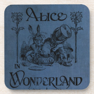 Alice in Wonderland 1905 book cover Drink Coaster