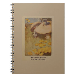 Alice in Wonderland 1907 Illustration Notebook
