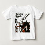 Alice In Wonderland; A Play. The White Rabbit Tee Shirt